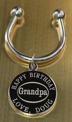 Grandpa keychain.