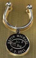 It's a boy keychain.