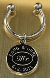 Engraved Mr. Keychain