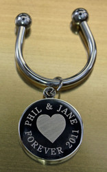 Heart Keychain.