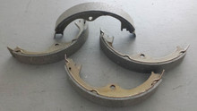 1984-1987; C4; Emergency Brake Pads Shoe Set