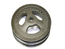 1965-1974; C2; C3; Power Steering Pump Pulley; Cast Iron