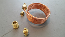 1963-1974; C2; C3; Oil Pressure Line Kit; Copper