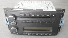 2005-2013; C6; Stock Radio CD Player; Single CD