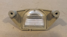 1997-2004; C5; License Plate Lamp Light
