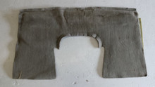 1997-2004; C5; Coupe; Rear Seat Back Riser Carpet; GRAY