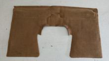 1998-2004; C5; Convertible; Rear Seat Back Riser Carpet; OAK