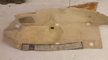 2003-2004; C5; Front Floor Carpet; LH Driver; SHALE