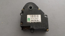 1990-1996; C4; AC Heater Blend Door Actuator