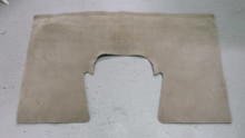 2003-2004; C5; Coupe; Rear Seat Back Riser Carpet; SHALE