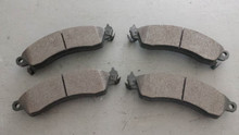 1988-1996; C4; Semi-Metallic Brake Pads; Front Axle Set: D412