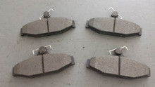 1988-1996; C4; Semi-Metallic Brake Pads; Rear Axle Set: D413