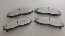 1997-2004; C5; Semi-Metallic Brake Pads; Front Axle Set: D731