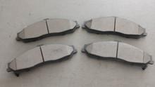 1997-2004; C5; Semi-Metallic Brake Pads; Front Axle Set: D731