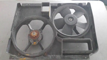 1990-1996; C4; Radiator Cooling Dual Fan & Shroud Assembly