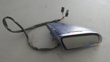 1984-1996; C4; Power Side View Door Mirror; RH Passenger; BLUE