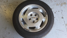 1988-1988; C4; Front Rear Wheel Rim & Tire 16 x 8.5; RH Passenger