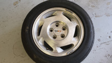1988-1988; C4; Front Rear Wheel Rim & Tire 16 x 8.5; LH Driver