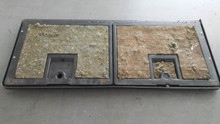 1984-1996; C4; Rear Compartment Storage Door Assembly