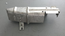 1980-1982; C3; Lower Rear Ignition Heat Shield; LH Driver