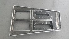 1972-1976; C3; Center Console Shift Trim Plate; 4 Speed