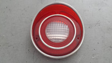 1971-1973; C3; Back Up Reverse Lamp Light Lens