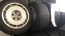 1987-1987; C4; Wheel Rim & Tire Set 16 x 9.5