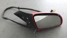 1986-1996; C4; Convertible; Power Side View Door Mirror; RH Passenger; RED