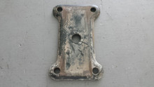 1975-1979; C3; Rear Leaf Spring Anchor Mount Bracket; 2 1/2""