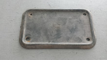 1968-1982; C3; Rear Body Mount Cover Plate
