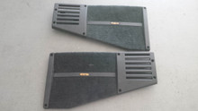 1988-1996; C4; Coupe; Rear Speaker Grille; LH & RH PAIR; BLACK