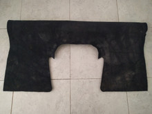 2006-2013; C6; Z06; Seat Back Riser Carpet; EBONY