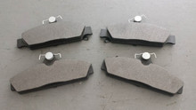 1984-1987; C4; Semi-Metallic Brake Pads; Front Axle Set; D294