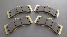 1965-1982; C2; C3; Semi-Metallic Brake Pads; Front or Rear Axle Set; D8