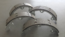 1965-1982; C2; C3; Emergency Brake Pads Shoe Set; Stainless Steel