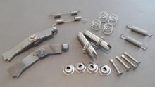 1965-1982; C2; C3; Emergency Brake Hardware Kit; Stainless Steel