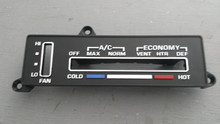 1977-1979; C3; AC Temperature Control Face Plate