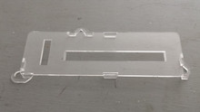 1978-1982; C3; Clear AC Temperature Control Face Plate Cover