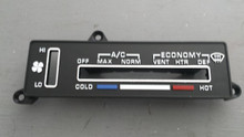 1980-1982; C3; AC Temperature Control Face Plate
