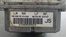 2005-2008; C6; ABS Pump; Electronic Brake Control Module; J5