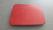 1984-1996; C4; Headlight Door Lid Cover; LH Driver; RED