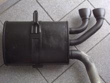 1997-2004; C5; Exhaust Pipe Muffler; RH Passenger