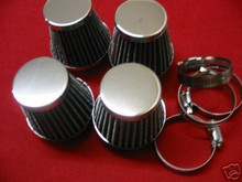 4 UNIV. POD FILTERS 48MM CB400N, GPZ305, GS450, XS400