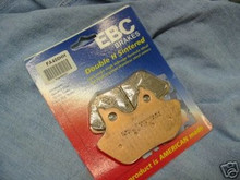 3 HARLEY FX FL FRONT & REAR BRAKE PADS FA400HH