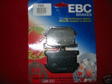 2 XS750, XS850, XV920, XS1100 EBC FA34 F&R BRAKE PADS
