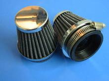 2 KZ440 XS400 UNIVERSAL INDIVIDUAL POD AIR FILTER FILTERS 54MM ID