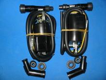 2X SUZUKI GS550 GS750 GS850 GS1000 IGNITION COIL W/ SPARK PLUG CAPS  33410-45012