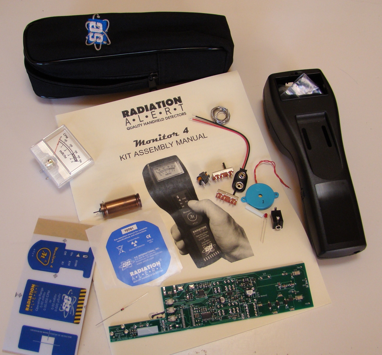 Monitor 4 Geiger Counter Kit