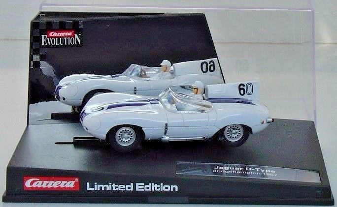 25786 Carrera Evolution Jaguar D Type 60 Limited Edition 1 32 Slot
