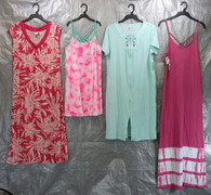 Wholesale Lot of 100 Assorted Sleep Gowns Dresses Pajama Sleepwear Womens S-L Sizes